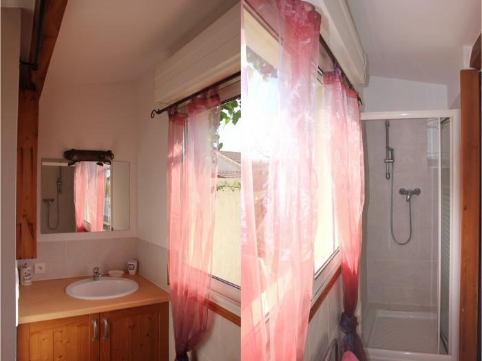 salle de bain de la location
