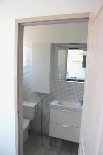 salle de bains du studio